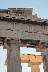Detail of Parthenon, Acropolic, Athens; Greece