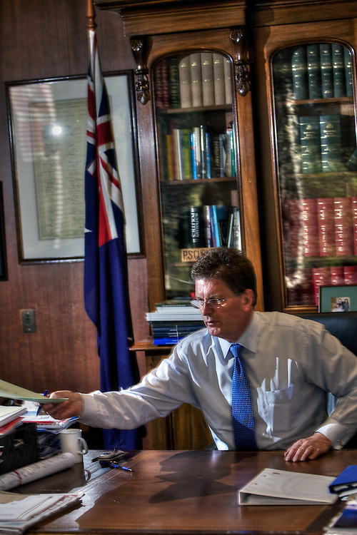 Victorian Premier Ted Baillieu after one year in office. Pic By Craig Sillitoe CSZ/The Sunday Age.21/11/2011 melbourne photographers, commercial photographers, industrial photographers, corporate photographer, architectural photographers, This photograph can be used for non commercial uses with attribution. Credit: Craig Sillitoe Photography / http://www.csillitoe.com<br />
