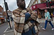 Londra, 08/08/2017: homeless, Seven Sister station.<br /> © Andrea Sabbadini