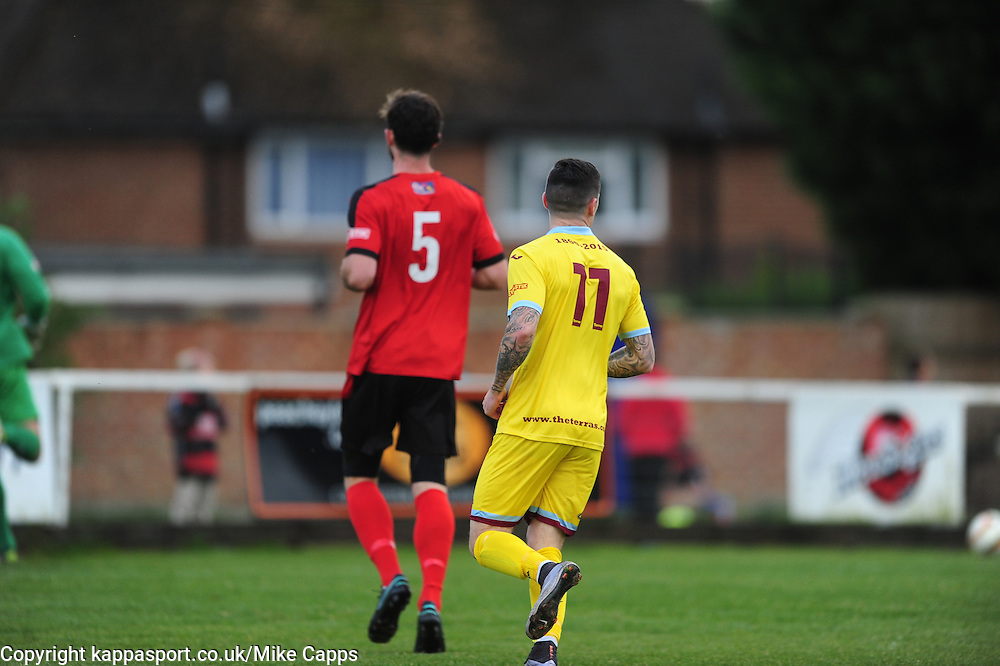 Kettering Town v Weymouth, Evostick Southern League Premier, Latimer Park Saturday 22nd October 2016<br /> Score 3-1