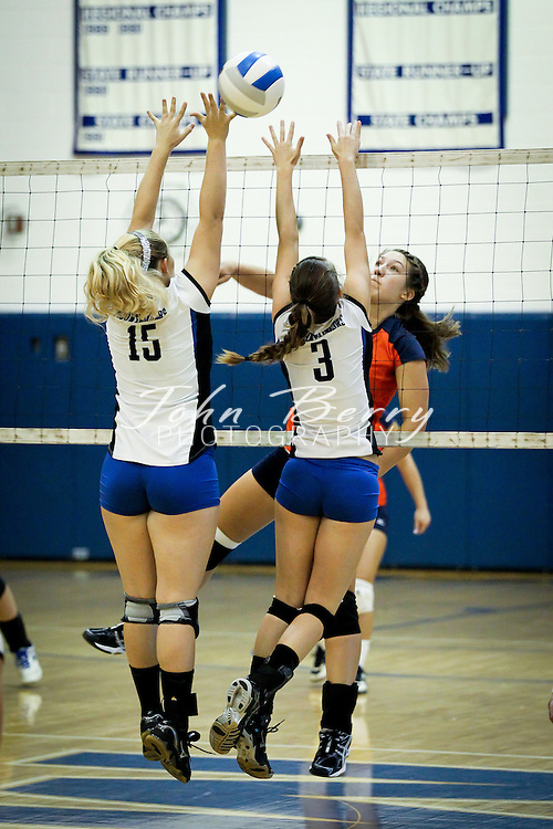 October/12/11:  MCHS Varsity Volleyball vs Clarke Eagles.  Madison wins 3-0 (31-29, 25-17, 25-22)