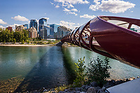 Peace Bridge & Bow River