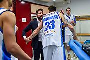 Gianmarco Pozzecco, Achille Polonara<br /> AX Armani Exchange Olimpia Milano - Banco di Sardegna Dinamo Sassari<br /> LBA Serie A Postemobile 2018-2019 Playoff Semifinale Gara 2<br /> Milano, 31/05/2019<br /> Foto L.Canu / Ciamillo-Castoria