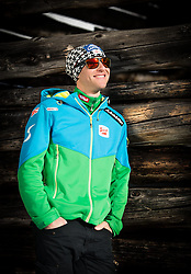 03.02.2015, Bad Hofgastein, AUT, Bernhard Gruber im Portrait, im Bild der Österreichische Kombinierer Bernhard Gruber während eines Fototermins // the Austrian Nordic Combined Athlete Bernhard Gruber during a Photocall in Bad Hofgastein, Austria on 2015/02/03. EXPA Pictures © 2014, PhotoCredit: EXPA/ JFK