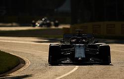 MELBOURNE, March 16, 2019  Alfa Romeo's driver Kimi Raikkonen competes during the Qualifying session of Formula 1 Australian Grand Prix 2019 at the Albert Park in Melbourne, Australia, March 16, 2019. (Credit Image: © Bai Xuefei/Xinhua via ZUMA Wire)