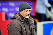 Exeter City manager Paul Tisdale during the Sky Bet League 2 match between Exeter City and Bristol Rovers at St James' Park, Exeter, England on 28 November 2015. Photo by Graham Hunt.