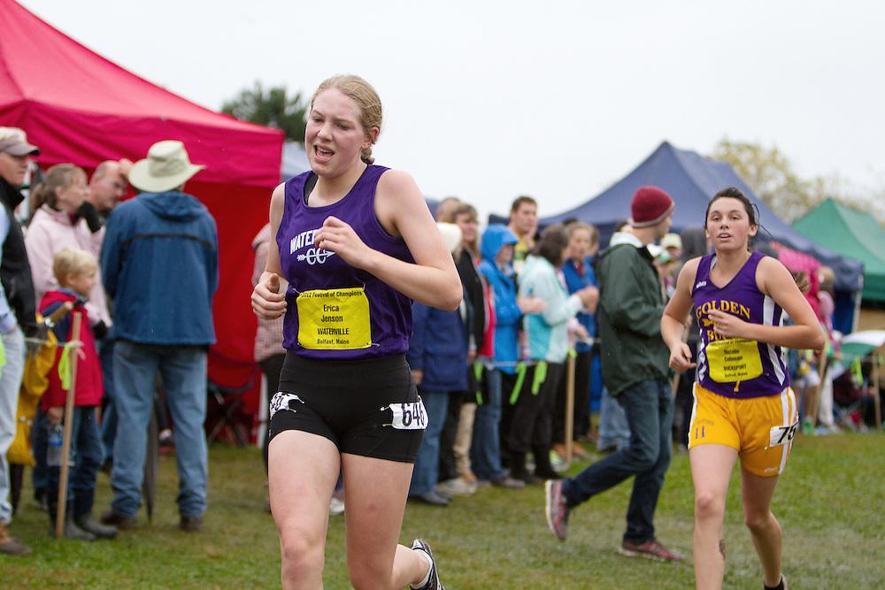 Festival of Champions High School Cross Country meet, Erica Jenson, Waterville