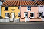 Aldeburgh, Suffolk Pretty terraced cottages, Aldeburgh, Suffolk,