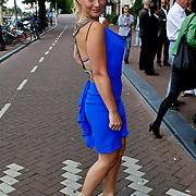 NLD/Amsterdam/20100801 - Inloop premiere musical Crazy Shopping, Gigi Ravelli