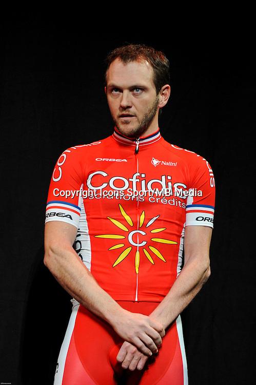 Johan BALLATORE - 23/01/2015 - presentation de l equipe Cofidis <br /> photos : Gautier Demouveaux / Icon Sport