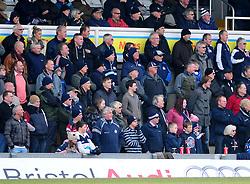 Bristol Rugby fans - Photo mandatory by-line: Dougie Allward/JMP - Tel: Mobile: 07966 386802 07/04/2013 - SPORT - RUGBY - Memorial Stadium - Bristol. Bristol v Leinster A - B&I Cup.