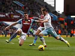 - Photo mandatory by-line: Matt Bunn/JMP - Tel: Mobile: 07966 386802 08/02/2014 - SPORT - FOOTBALL - Birmingham - Villa Park - Aston Villa v West Ham United - Barclays Premier League