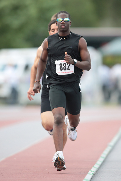 London, Ontario ---14/06/09---  Anthony Dandie of Windsor Legion T.F.C. competes in the  2009 AO Ontario Junior Championships at TD Waterhouse stadium in London, Ontario, June 13, 2009..GEOFF ROBINS Mundo Sport Images