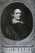 Gisbertus Voetius (Latinized version of the Dutch name Gijsbert Voet) (3 March 1589 – 1 November 1676) was a Dutch Calvinist theologian. In 1619 he played an influential part in the Synod of Dort, and in 1634 was made professor of theology and Oriental science at the University of Utrecht. He was an advocate of a strong form of Calvinism (Gomarism) against the Arminians. The most valuable works he left were his 'Select Disputationes Theses'.