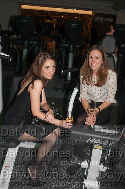 OLIVIA SHARPE; ANNABEL HARRISON, Launch of Equinox, 99 Kensington High st. Former Rainbow Room, London, . 23 October 2012.