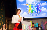 Helena Karl&eacute;n, founder of ECPAT Sweden.<br /> Photo: Sofia Marcetic/World's Children's Prize<br />