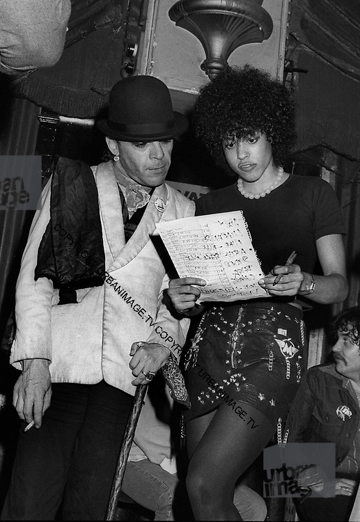 Ian Dury with Denise Roudette