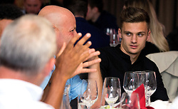 Jamie Paterson of Bristol City mingles with guests during the Lansdown Club event - Mandatory by-line: Robbie Stephenson/JMP - 06/09/2016 - GENERAL SPORT - Ashton Gate - Bristol, England - Lansdown Club -