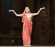 La Bayad&egrave;re<br /> The Mariinsky Ballet <br /> at The Royal Opera House, London, Great Britain <br /> rehearsal <br /> 11th August 2011 <br /> <br /> Uliana Lopatkina (as Nikiya, a bayadere)<br /> <br /> <br /> Photograph by Elliott Franks