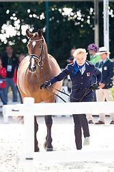 Marcela Krinke Susmelj, (SUI), Smeyers Molberg - Horse Inspection Dressage - Alltech FEI World Equestrian Games™ 2014 - Normandy, France.<br /> © Hippo Foto Team - Leanjo de Koster<br /> 25/06/14