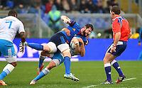 Loann GOUJON - 15.03.2015 - Rugby - Italie / France - Tournoi des VI Nations -Rome<br /> Photo : David Winter / Icon Sport