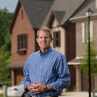 Bob Farley/f8Photo.org -- Price Hightower withTower Homes at their Brooke's Crossing developement in Trussville.