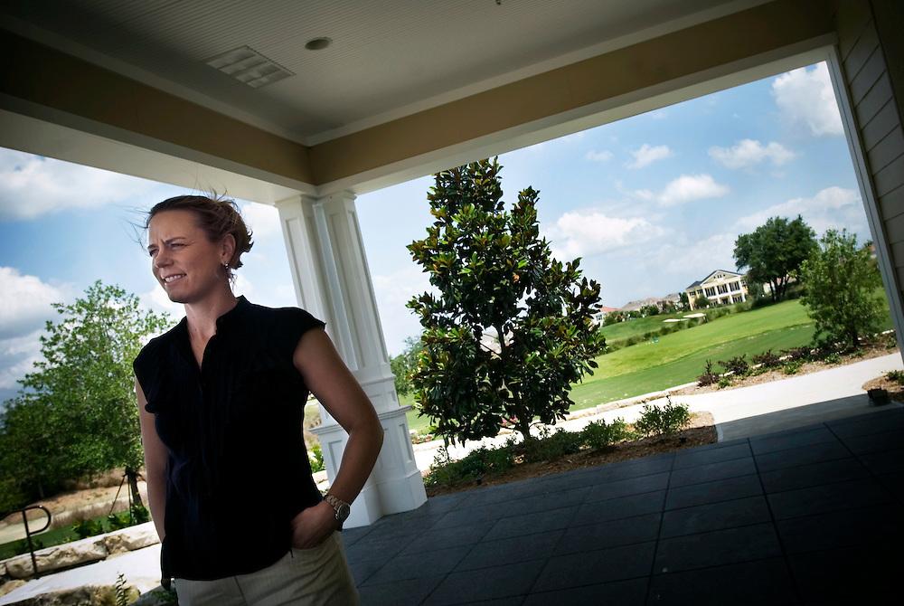 "Swedish golf pro Annika Sörenstam, at her ""Annika Academy"" in Orlando, Florida.Photographer: Chris Maluszynski /MOMENT"