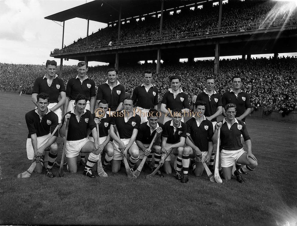 07/09/1958<br /> 09/07/1958<br /> 7 September 1958<br /> All-Ireland Senior Final: Galway v Tipperary at Croke Park, Dublin. Galway team.
