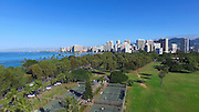 Kapiolani Park, Waikiki, Honolulu, Oahu, Hawaii