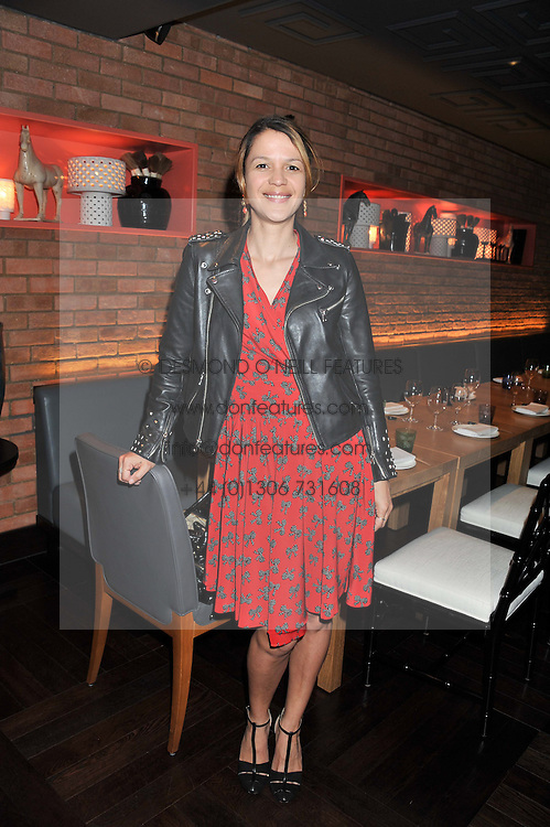 LISA MOORISH at a lunch at the Brompton Asian Brasserie, 223-225 Brompton Road, London on 2nd May 2013.
