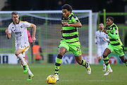 Forest Green Rovers Reuben Reid(26) runs forward during the EFL Sky Bet League 2 match between Forest Green Rovers and Port Vale at the New Lawn, Forest Green, United Kingdom on 6 January 2018. Photo by Shane Healey.