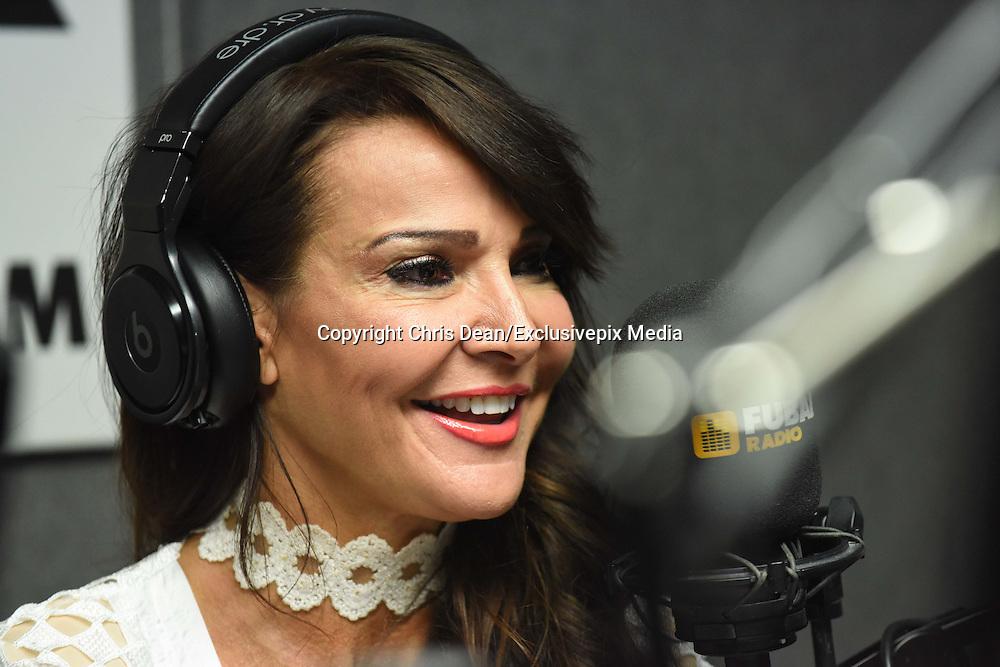 EXCLUSIVE<br /> Lisa Appleton &amp; Lizzie Cundy at Fubar Radio<br /> &copy;Chris Dean/Exclusivepix Media