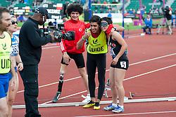 YILMAZER Oznur, Baris Telli, 2014 IPC European Athletics Championships, Swansea, Wales, United Kingdom