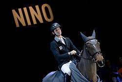 Guerdat Steve, SUI, Nino Des Buissonnets<br /> Farewell of Nino<br /> Grand Prix Rolex<br /> CHI de Genève 2016<br /> © Hippo Foto - Dirk Caremans<br /> 11/12/2016er