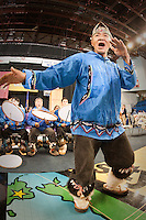 Anaktuvik Dancers,  World Eskimo Indian Olympics 2009, Fairbanks, Alaska