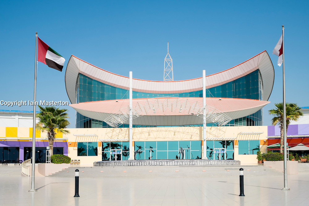 RAK Mall in Ras Al Khaimah emirate in United Arab Emirates UAE