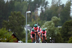 Parkhotel Valkenburg during Postnord UCI WWT Vårgårda WestSweden TTT, a 36 km team time trial in Vårgårda, Sweden on August 17, 2019. Photo by Sean Robinson/velofocus.com