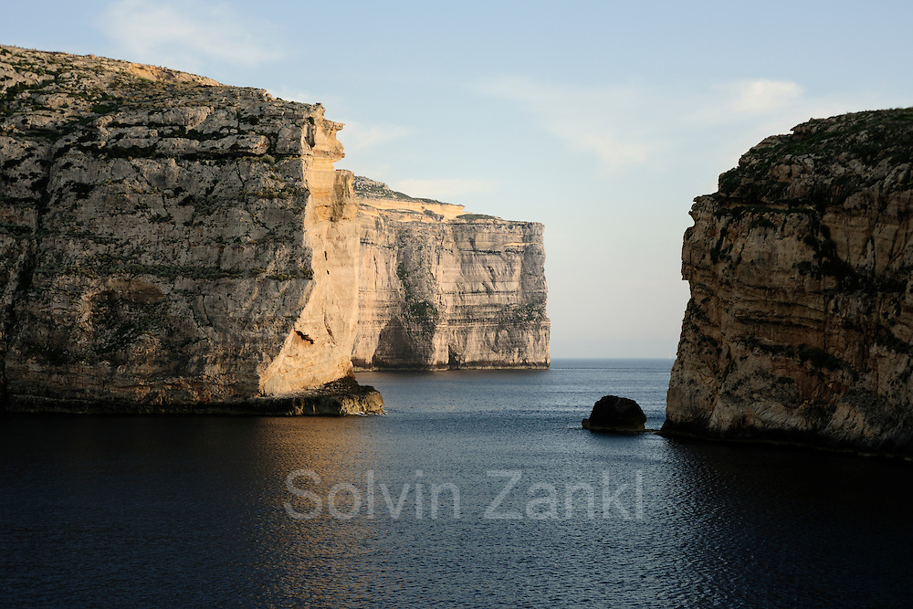 Coastline at Dwejra, Gozo