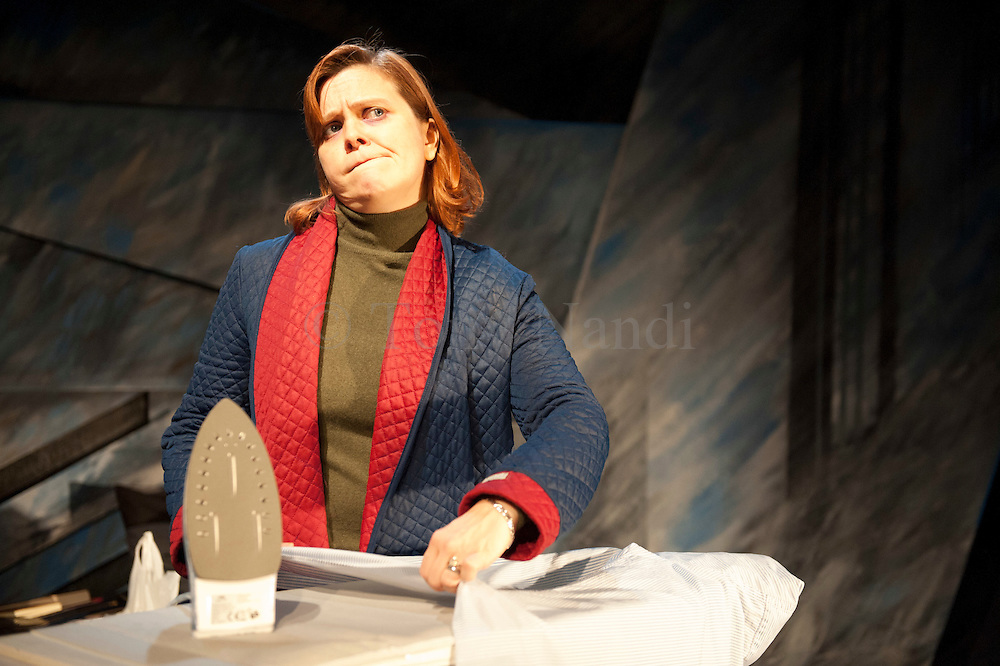 16/11/2011. Lizzie Roper as 'Ruth', in production of 'The Biting Point' by Sharon Clark. Performed and produced by Theatre503 at The Latchmere in Battersea. Picture credit should read: Tony Nandi