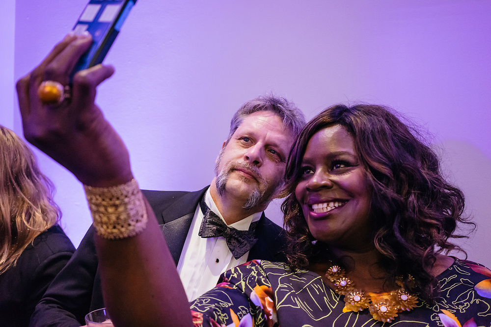 Retta, at the Full Frontal with Samantha Bee's Not the White House Correspondents' Dinner afterparty.