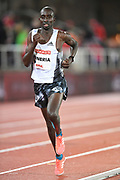 Charles Muneria (KEN) places 12th in the 10,000m in 28:13.91 during the Bauhaus-Galan in a IAAF Diamond League meet at Stockholm Stadium in Stockholm, Sweden on Thursday, May 30, 2019. (Jiro Mochizuki/Image of Sport)