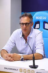 ANDREA GAZZOLI<br /> CONFERENZA DISSEQUESTRO STADIO PAOLO MAZZA DOPO LE VERIFICHE