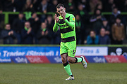 Forest Green Rovers Lee Collins(5) during the EFL Sky Bet League 2 match between Forest Green Rovers and Yeovil Town at the New Lawn, Forest Green, United Kingdom on 16 February 2019.