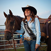 "during the Prince William County Fair, in Manassas, VA, on Sunday, August 10, 2014. John Boal PhotographyMelissa McMullan, Miss Rodeo Virginia 2014, of Ft. Valley, VA, stands with her horse, Sarah, during the Dave Martin Rodeo, at the Prince William County Fair, in Manassas, VA, on Sunday, August 10, 2014.  McMullan represents Virginia regionally and nationally, while promoting ""rodeos and the western lifestyle"" in Virginia.  John Boal Photography Melissa McMullan, Miss Rodeo Virginia 2014, of Ft. Valley, VA, stands with her horse, Sarah, during the Dave Martin Rodeo, at the Prince William County Fair, in Manassas, VA, on Sunday, August 10, 2014.  McMullan represents Virginia regionally and nationally, while promoting ""rodeos and the western lifestyle"" in Virginia."