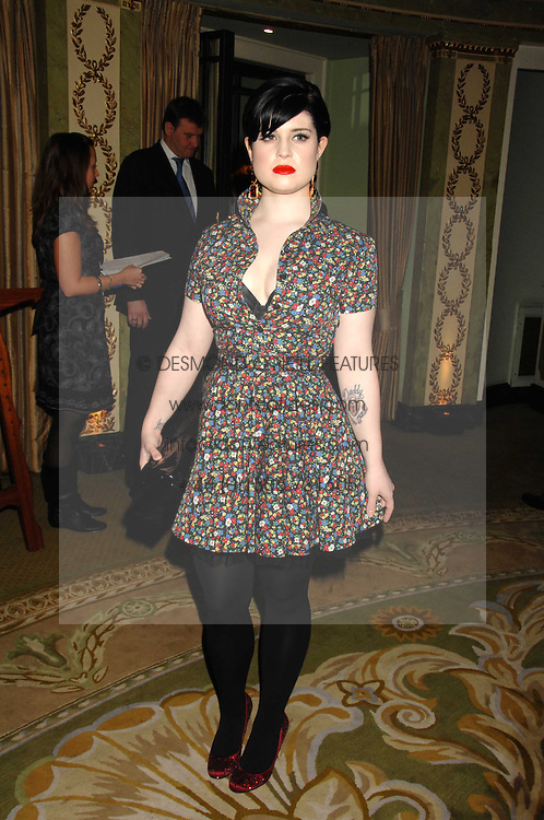 KELLY OSBOURNE at the South Bank Show Awards held at The Dorchester, Park Lane, London on 29th January 2008.<br />