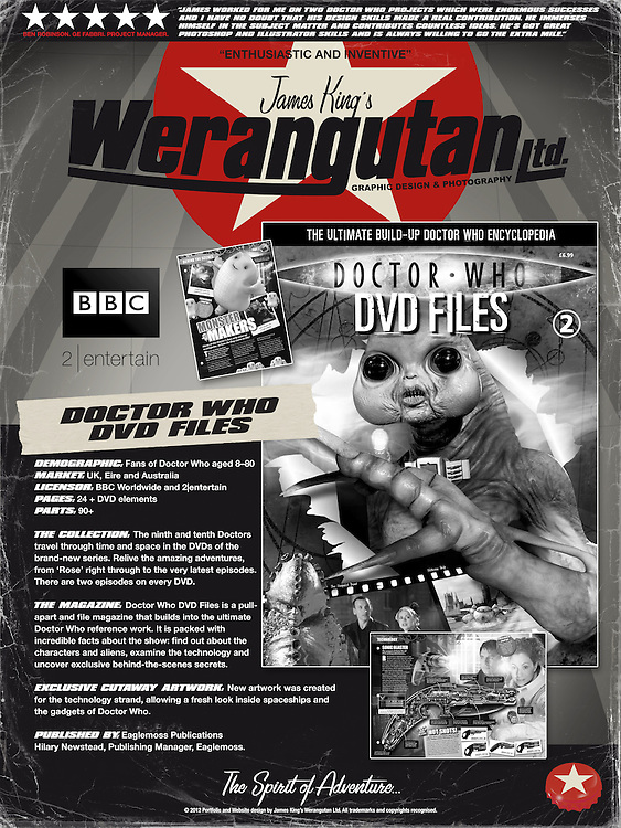 Doctor Who DVD Files<br />