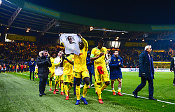 January 31, 2019 - Nantes, France - Ambiance - Hommage a Emiliano Sala - KOLO MUANI Randal ( Nantes ) - HALILHODZIC Vahid  (Credit Image: © Panoramic via ZUMA Press)