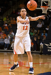 Virginia guard Britnee Millner (12) in action against Rider.  The #15 ranked Virginia Cavaliers defeated the Rider Broncs 83-38 in the Marriott Cavalier Classic Basketball Tournament at the John Paul Jones Arena on the Grounds of the University of Virginia in Charlottesville, VA on December 28, 2008.