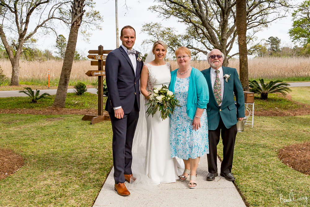 Lauren and West Bell wedding, Georgetown, SC
