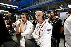 September 2, 2018 - Monza, Italy - Motorsports: FIA Formula One World Championship 2018, Grand Prix of Italy, ..Toto Wolff (AUT, Mercedes AMG Petronas Motorsport), Dr. Dieter Zetsche (Chairman of the Board of Management of Daimler AG, Head of Mercedes-Benz Cars) (Credit Image: © Hoch Zwei via ZUMA Wire)